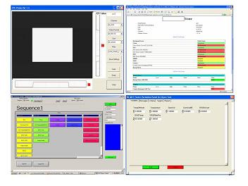 赤外カメラ評価ソフト操作画面例