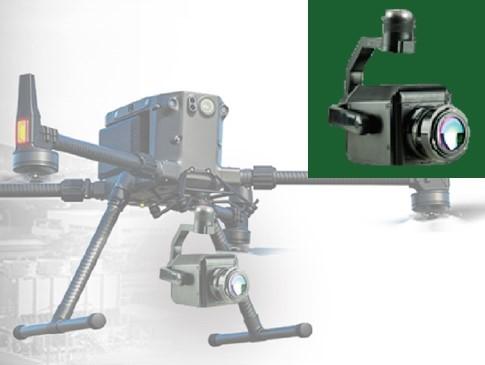 ドローン搭載型ガス検知用カメラ_製品イメージ